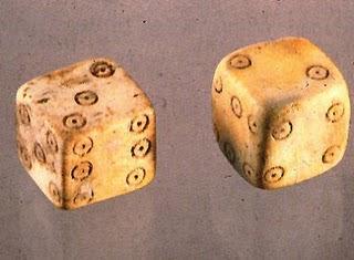 Dados utilizados por los romanos