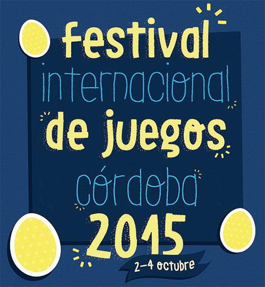 Cartel del X Festival Internacional de Juegos de Córdoba