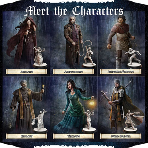 Personajes de Folklore The Affliction
