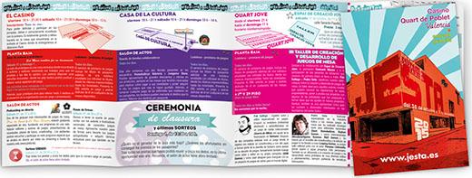 Folleto de actividades de las Jesta 2015