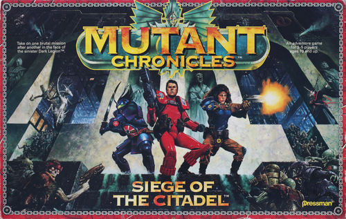 Portada de la versión de 1993 de Mutant Chronicles