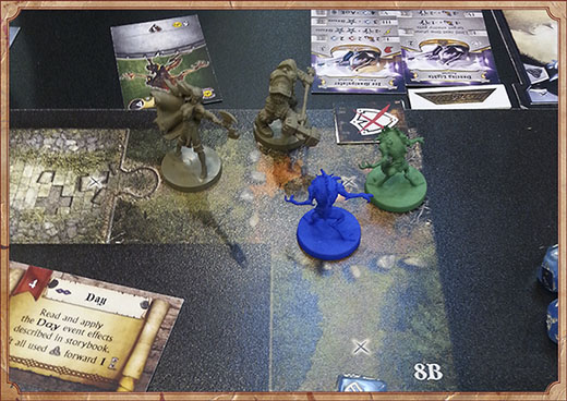 Demostración de Sword and Sorcery en Essen
