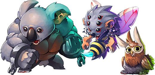 Enemigos de Arcadia Quest Pets