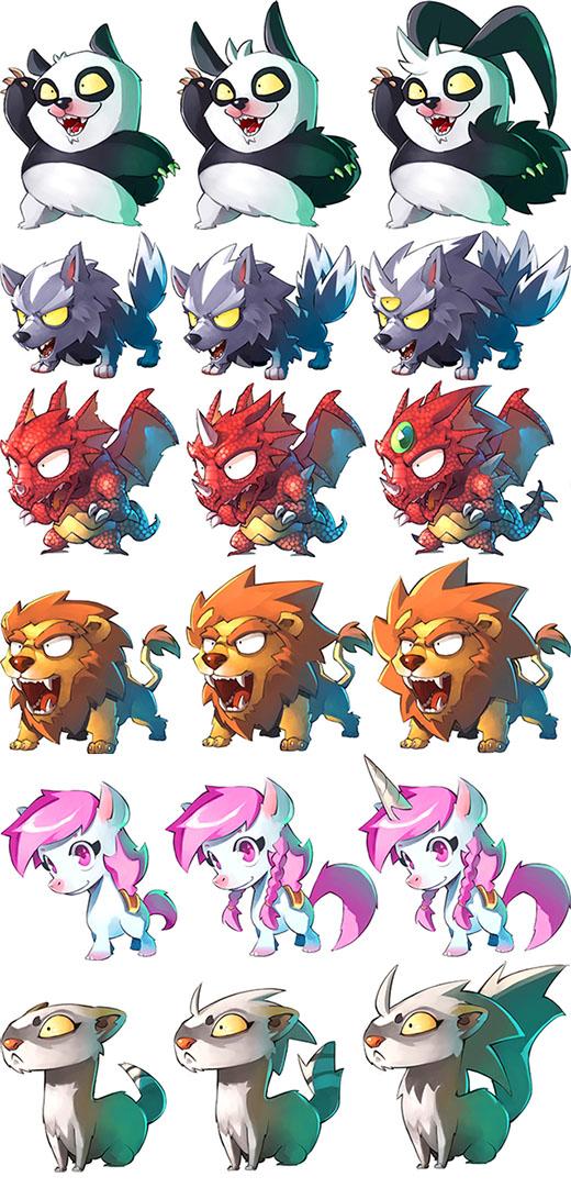 Mascotas de Arcadia Quest Pets