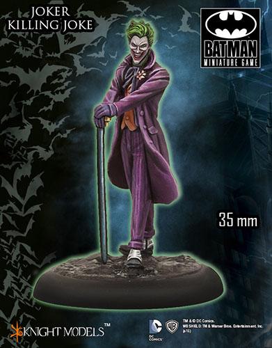 Miniatura de Joker de la broma asesina para Batman miniature game