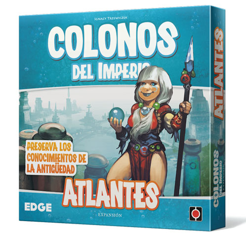 Portada de Colonos del Imperio Atlantes