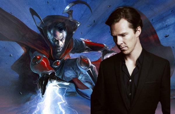 Montaje de Doctor Extraño y Benedict Cumberbatch