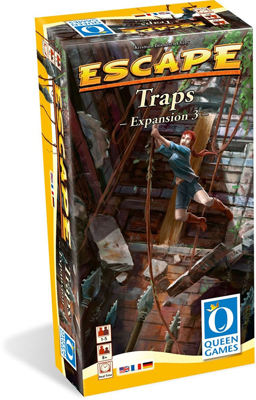 Portada de Escape Traps