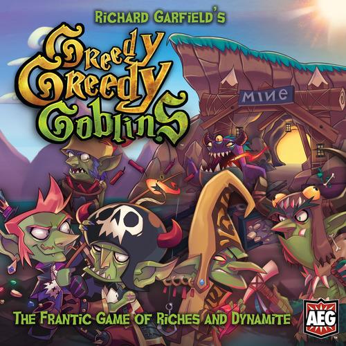 Portada de Greedy, Greedy Goblins