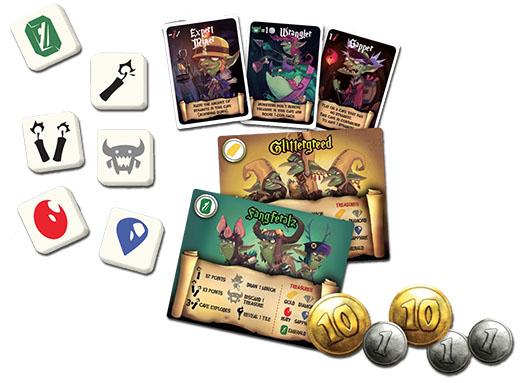 Algunos componentes de Greedy, Greedy Goblins