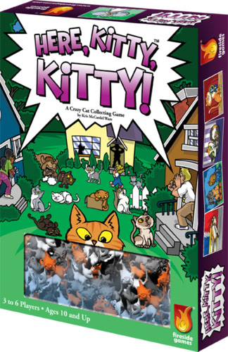 Portada de Here, Kitty, Kitty!