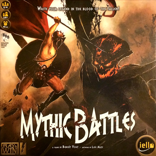 Portada de Mythic Battles