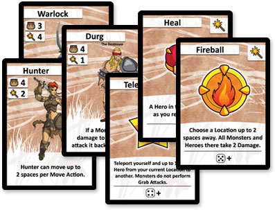 Cartas de Side Quest Pocket adventures