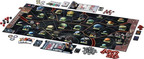Componentes de Star Wars Rebellion