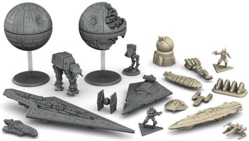 Miniaturas de Star Wars Rebellion