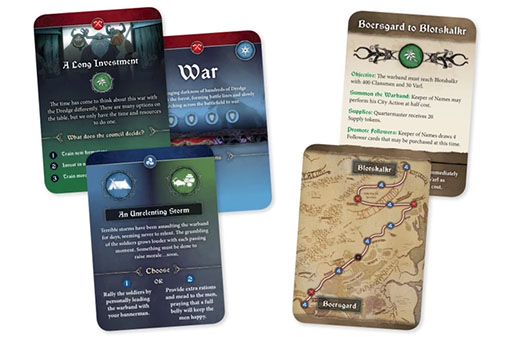 Cartas de The Banner Saga-Warbands