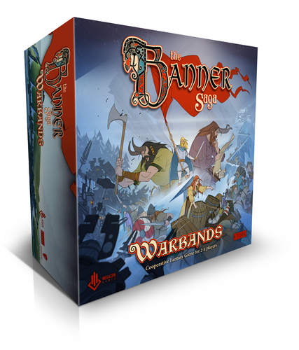 Portada de The Banner Saga-Warbands