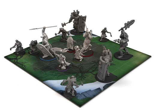 Minaturas de The Banner Saga-Warbands