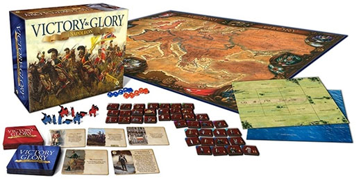 Componentes de Victory and Glory Napoleon