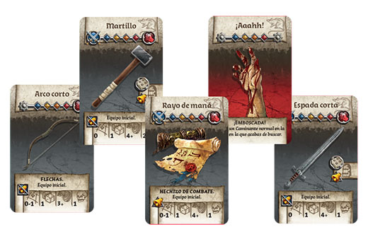 Cartas de Zombicide Black Plague
