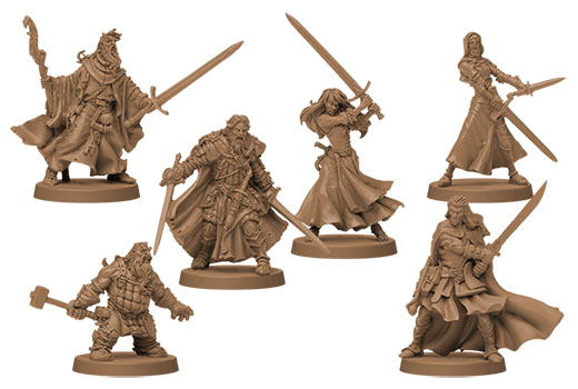 Miniaturas de Zombicide Black Plague