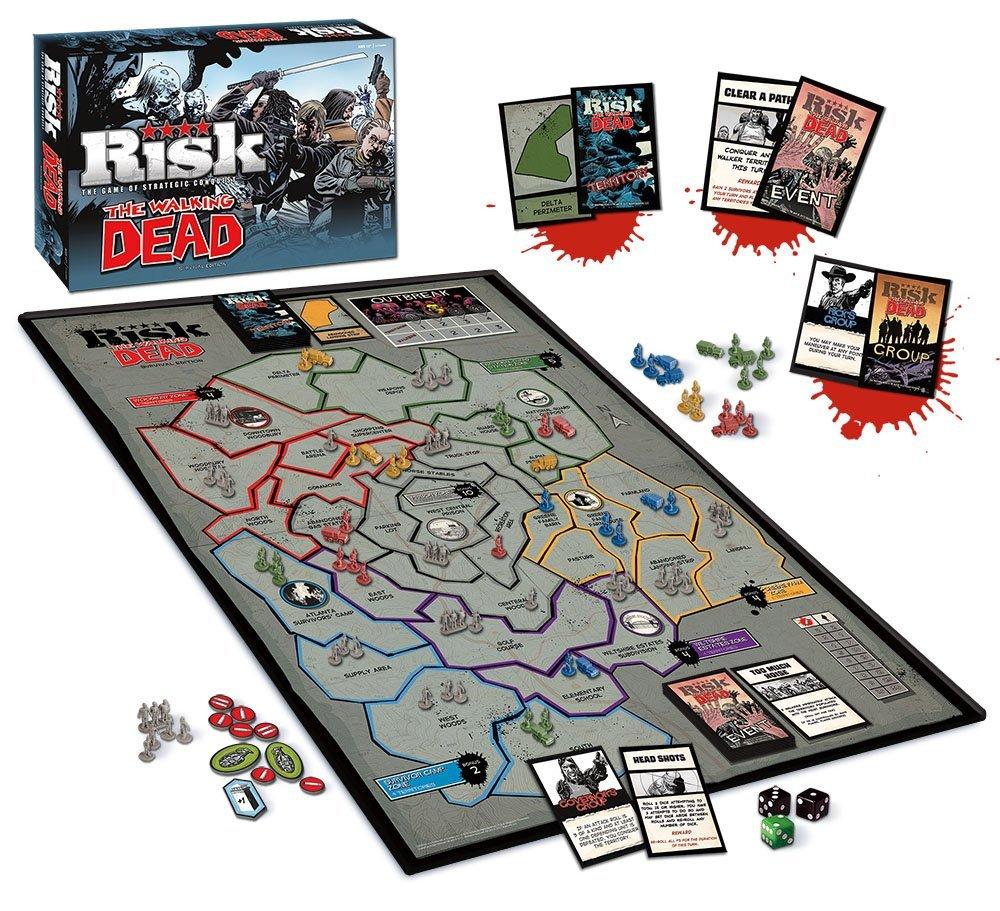 Contenido del jeugo Risk The Walking Dead
