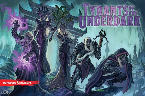 Portada de Dungeons and Dragons Tyrant of the Underdark