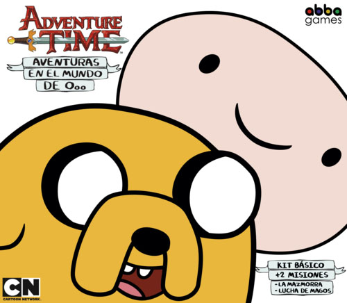 Portada de Hora de aventuras, aventuras en el mundo de Ooo