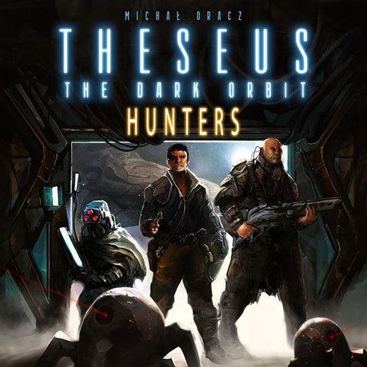 Portadade theseus hunters de Portal games