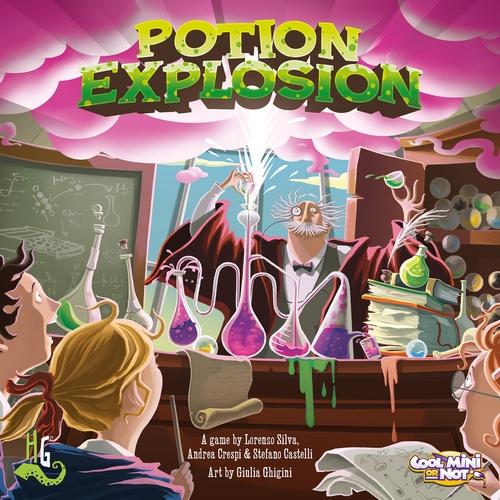 Portada de potion explosion