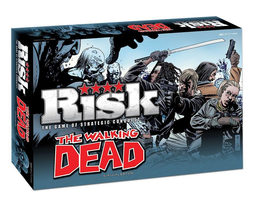 Juego de mesa The Walking Dead Riks