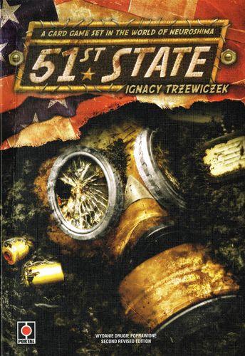 Portada de 51st State de Portal Games