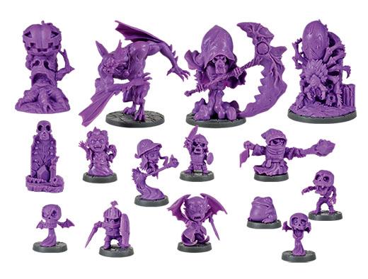 Miniaturas de la expansión La Mansión Von Drakk
