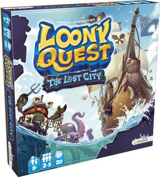 Portada de Loony Quest The lost City