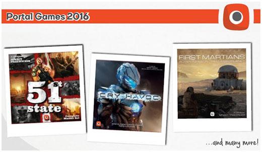 Juegos de Portal games en 2016
