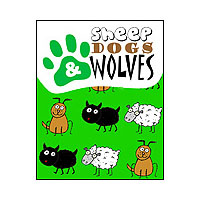 Portada de Sheep, dogs and wolves