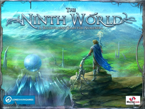 Portada de The Ninth World: A Skillbuilding Game for Numenera