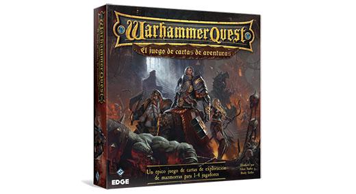 Portada de Warhammer Quest el juego de cartas de aventuras