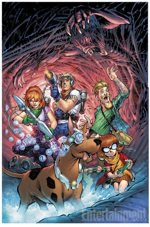 Rediseño de Scooby Doo