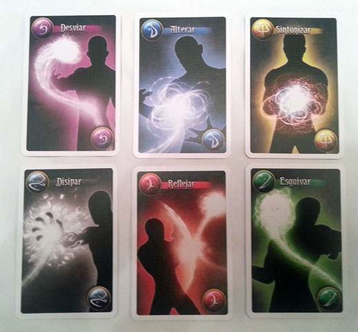 Cartas de maniobra de Arcanya Magic Academy