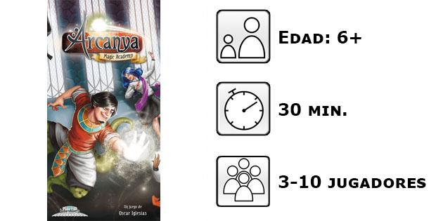 Datos de Arcanya Magic Academy
