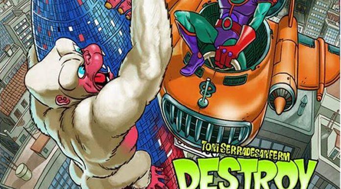 Extracto de la portada de Destroy BCN