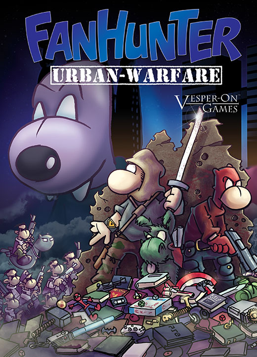Portada de Fanhunter urban warfare
