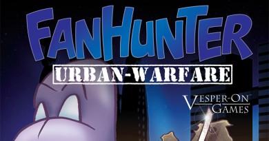 Estracto de la portada de Fanhunter urban warfare