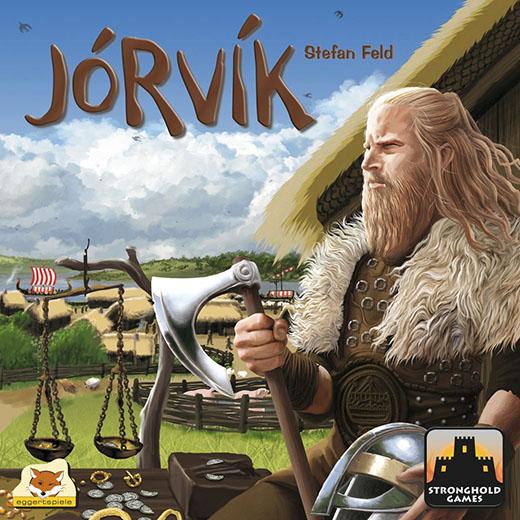 Primer diseño de la portada de Jorvik
