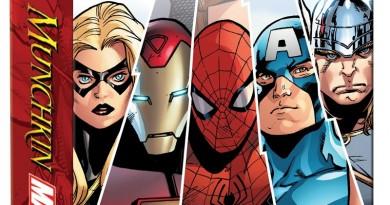Extracto de la portada de Marvel Munchkin