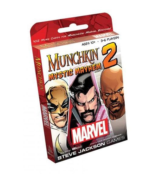 Primera expansión de de Marvel Munchkin