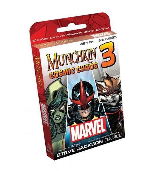 Segunda expansión de de Marvel Munchkin