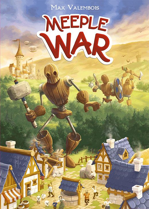 Portada de Meeple War
