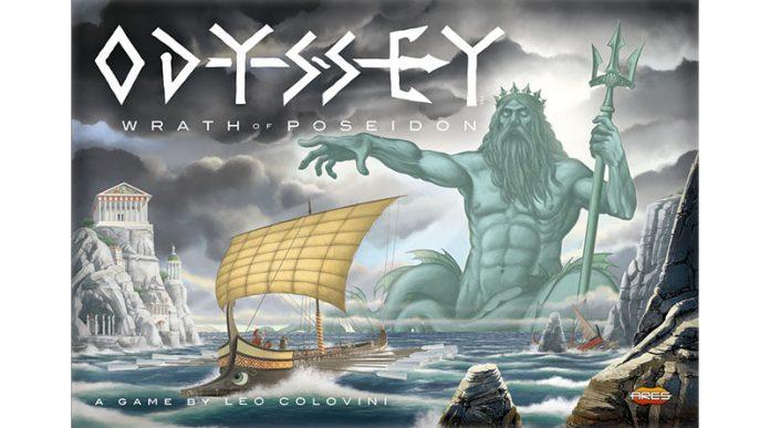 Portada de Odyssey Wrath of Poseidon